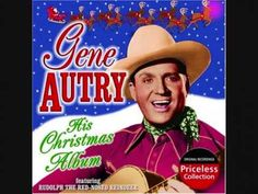Gene Autry HERE COMES SANTA CLAUS - YouTube Country Christmas Music, Christmas Cds, Christmas Albums, Christmas Movies, Xmas Music, Christmas Things, Christmas Treats, Vintage Christmas, Cd Cover