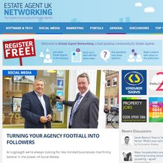Thanks to the guys over at Estate Agency UK for featuring our latest blog on turning your agency footfall into followers #EAUK #estateagents #logotag #followers #smm #blog