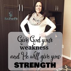 Weakness > Strength We all seem know our weaknesses. Its sad but true. Have you ever taken a moment to think about your strengths. I know you have them because I know God has a purpose for all of us. All we have to do is ask and he will turn our weakness into strength. I have had a heart for health and fitness for some time but my lacked the confidence to do something about it. So I gave it to God and he gave me guidance and strength. It was then that the coaching opportunity came about and…