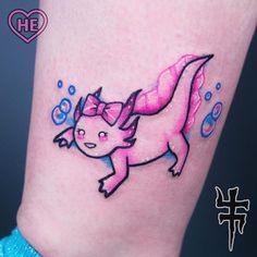 Super cute axolotl from yesterday!  I've always got by shoujo.carnivore