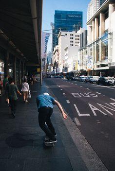 Skate the city