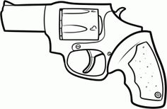 how to draw a revolver step 9