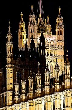 Palace of Westminster in London, England