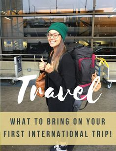 It doesn't feel like it in Seattle but the best time for road trips & international adventures is around the corner! Head over to see the packing list I used for my first international trip last year & a few tricks I learned in the process!