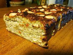 Cukor- és lisztmentes banánkenyér - paleo, egészséges, diétás |Fitt Falatok