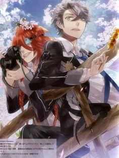 Starry Sky - Kazuki Shiranui & Ooshirou Shirogane