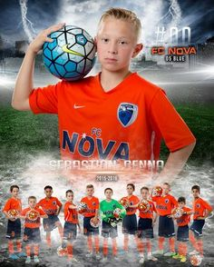 Soccer_Poster_Composite_Team_Door Sign_Sports_Athletes_Poses_Nova