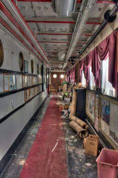 Abandoned Restaurant Ship, Canada