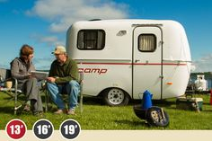 Scamp 13' Trailer; deluxe floor plan with front dinette may be ideal; approx weight 1300-1600 lb