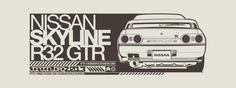 Nissan Skyline R32 GTR by JacobKuiper