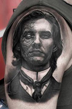 Dorian Gray Tattoo Design Wallpaper HD