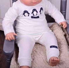 Dirkje babykleding 2 delig setje offwhite