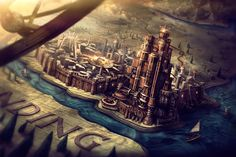 Game of Thrones opening sequence - Kings Landing concept art