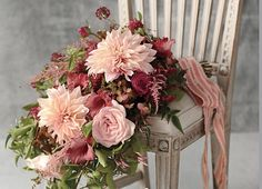 5 Wedding floral inspirations for 2015- Marsala