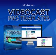 Videocast Pro Templates : Create A Professionally Formulated Animated Screenflow Videos. Videocast Pro Templates is a program that allow you to create a professionally formulated animated ScreenFlow videos, easy, and fast! The templates inside are full of customizable, completely revised and adapted to all aspects of your brand. You can easily create videos by combining different elements of different templates!