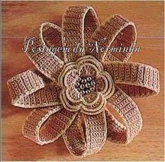 flores con sus patrones - LA CASITA DE MABELY - Gabitos