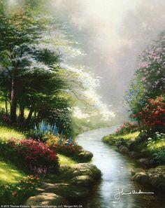 Painter Of Light Thomas Kinkade Heartwarming Paintings