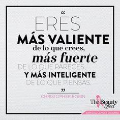 Cree en ti. #BeautyInspiration #OctubreRosa
