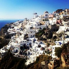"""See 4270 photos from 16891 visitors about sunsets, perfect moment, and amoudi. """"The most famous sunset in the world is in Oia. In 2015, Santorini, Mount Everest, Mount Rushmore, Grand Canyon, Things To Do, Greece, Places To Visit, In This Moment"""