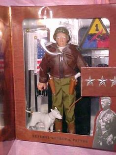 GI Joe General George S. Patton Historical Commanders Edition New in Box Kenner