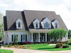 Home Plans HOMEPW16602 - 6,142 Square Feet, 5 Bedroom 2 Bathroom Greek Revival Home with 2 Garage Bays