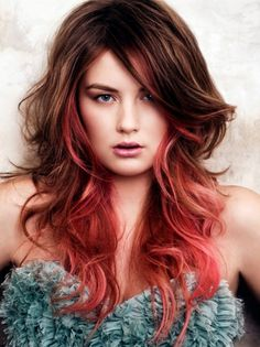 Red ombre, yes.