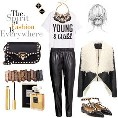 """""""The spirit of FASHION is everywhere"""" by hello-kitty-ro on Polyvore"""