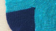 [vidéo] Tricoter une pointe de chaussette en rangs raccourcis