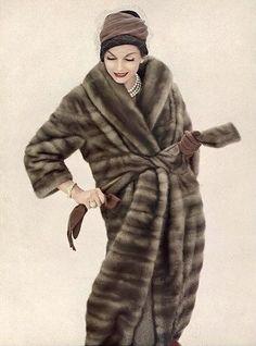 Anne St. Marie, photo by Henry Clarke, Vogue, October 1, 1958 | flickr skorver1