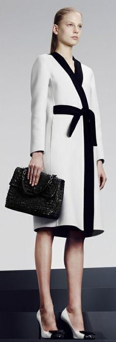 Bottega Veneta pre-fall 2014 wow what a fabulous coat !!!