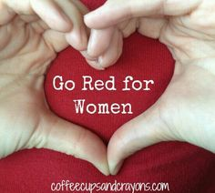 I GO RED FOR ME AN MY LOVED ONES