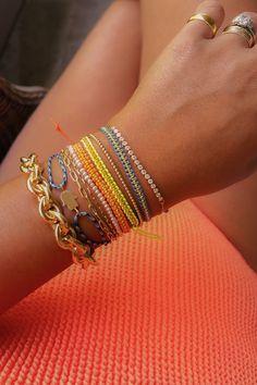 DIY Woven Macrame Bracelet - Honestly WTF