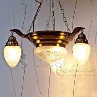 Jugendstil Deckenlampe Hängeleuchte Lampe Leuchte 8703