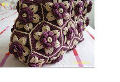 Crochet: Flower bag
