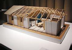 Architecture Model Making, Paper Architecture, Sustainable Architecture, Model Building, Modern Architecture, Ancient Architecture, Shigeru Ban, Bamboo Building, John Pawson Architect