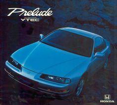 Honda Prelude Mk4 Spain Brochure 1993 Retro Cars, Vintage Cars, Honda Prelude, Ad Car, Honda Cars, Japan Cars, Transporter, Car Advertising, Automotive Design