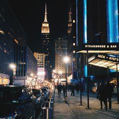 New York at night II NYC, New York City