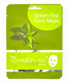 Another great find on #zulily! Green Tea Face Mask - Set of Three by the CRÉME shop #zulilyfinds