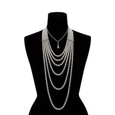 Interesting Akoya reading Mikimoto Duet Akoya conch pearl necklace
