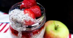 Antipastaa: Chiakerrosvanukas (gluteeniton, viljaton, maidoton, munaton, sokeriton, vhh, paleo, vegaaninen)