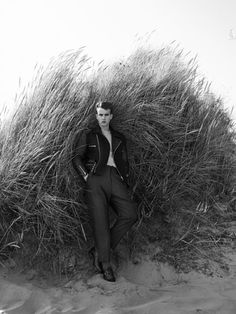 The unstoppable James Smith is featured in the new issue of Man About Town with the editorial Beach Combing, photographed by Paul Wetherell and styled by Mattias Karlsson with hair and grooming by James Pecis.