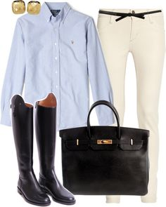 """""""Khaki Pants"""" by classically-preppy on Polyvore"""