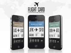 flight card.