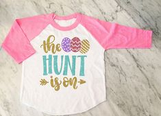 ae77eb8eb8e4f Cute!! Vinyl Easter Shirt for youth girls
