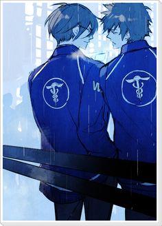 Psycho-Pass ~~ Ginoza & Kougami
