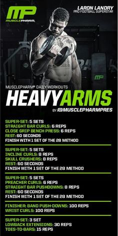 Heavy Arm workout | Posted By: AdvancedWeightLossTips.com