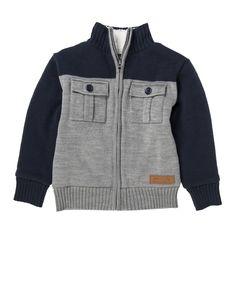 Sherpa Knit Jacket