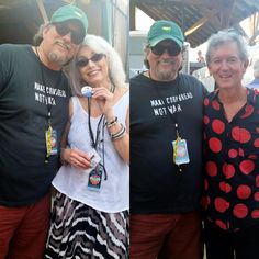 Ran into these guys at Floyd Fest. And remember kids: Make cornbread, Not war.