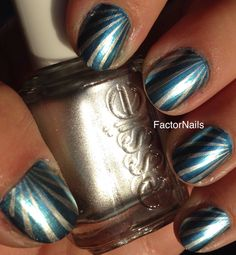 Foilipop nail art