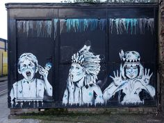 Zabou street art londres